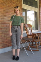 aa t-shirt - vintage jeans - Industry purse - ModClothcom shoes