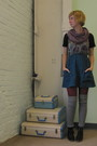 Pink-modclothcom-scarf-blue-modclothcom-dress-red-modclothcom-tights-silve