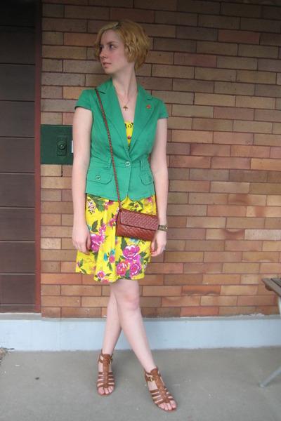 jacket - dress - purse - Jeffrey Campbell shoes
