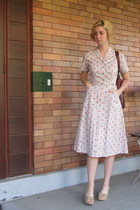 vintage dress - vintage purse - ModClothcom shoes