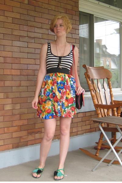 dress - Harajuku Lovers shoes - purse
