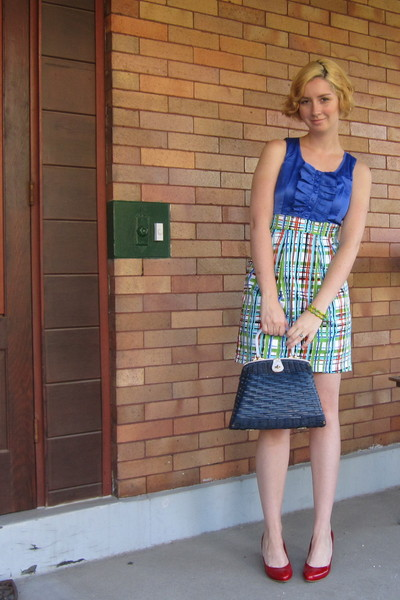 ModClothcom dress - Jeffrey Campbell shoes - vintage purse
