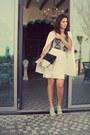 White-trench-coat-iconic-coat-black-colourblock-shoemart-bag