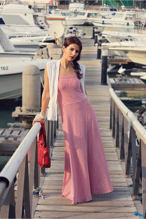 red stripes Gap dress