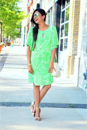 green leaf print Hutch Design dress