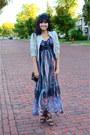 Maxi-thrifted-dress-dark-brown-moddeals-heels