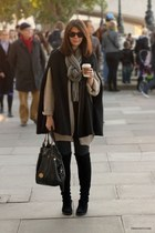black poncho looking Nine West coat