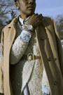 Camel-ralph-lauren-coat-neutral-h-m-sweater-periwinkle-stance-socks