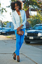 blue Prét à Porter blazer - aquamarine Prét à Porter pants