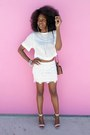 White-cropped-h-m-top-beige-mossimo-heels-white-lace-h-m-skirt