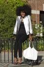 Black-skinny-jeans-h-m-jeans-silver-blue-pearl-jacket