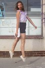 Off-white-vintage-shoes-off-white-vintage-bag-black-oasis-shorts-light-pur