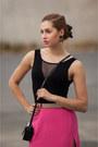 Black-vintage-bag-black-fashionhousecz-belt-black-oasap-heels