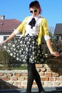 Black-worn-as-skirt-atmosphere-dress-yellow-romwe-sweater