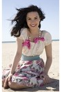Pearls-and-bows-unknown-necklace-unknown-blouse-floral-unknown-skirt