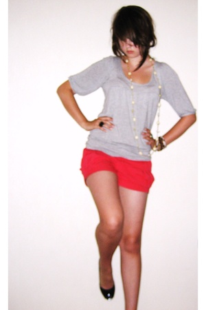 top - shorts - shoes - accessories