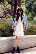 Jeffrey Campbell shoes - H&M dress - DIY accessories