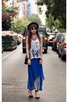 Forever 21 vest - H&M necklace - Zara heels