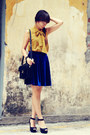 Vintage-blouse-zara-heels