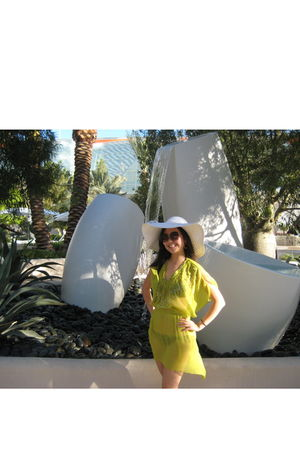 H&M dress - H&M swimwear - from Boracay hat