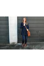 Fergalicious boots - banana republic jeans - Sabre bag - H&M top