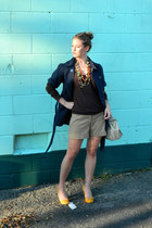 thrifted shirt - Arden B - thrifted jacket - J Crew - thrifted bag - The Limited