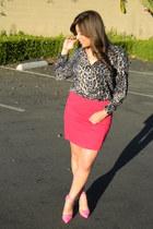 Forever21 shirt - heels