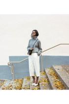 white culottes lindex pants