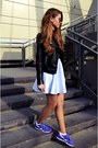 Black-cubus-jacket-h-m-sunglasses-white-ebay-skirt-violet-reebok-sneakers
