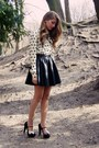 Ivory-oasap-shirt-black-new-look-heels-black-h-m-skirt