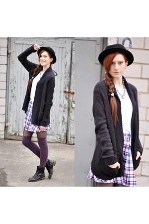 checkered American Apparel skirt