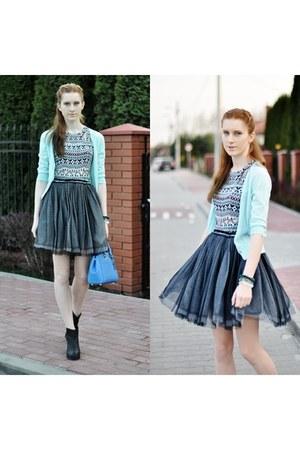 aztec H&M blouse