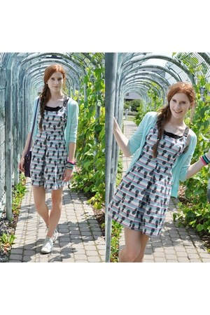pineapple Zara dress