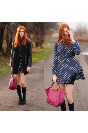 black romwe coat