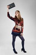 Dior vintage bag - Beata Guzinska blouse - Centro heels
