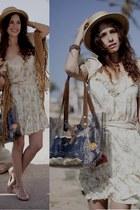 Mango dress - SCOP bag - IMOMA flats