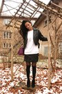 Black-vintage-danier-jacket-black-naughty-monkey-boots-deep-purple-body-blue