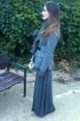 Mauro-leone-boots-burberry-jacket-pedro-del-hierro-scarf-zara-skirt