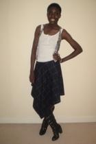 top - skirt - vest