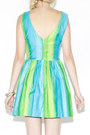 Ombre-vintage-dress