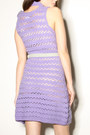 Purple-crochet-1960s-dress