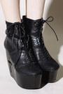 Grey-city-boots