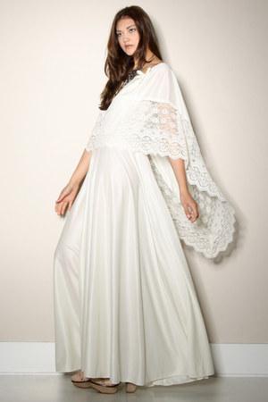 lace maxi dress vintage dress