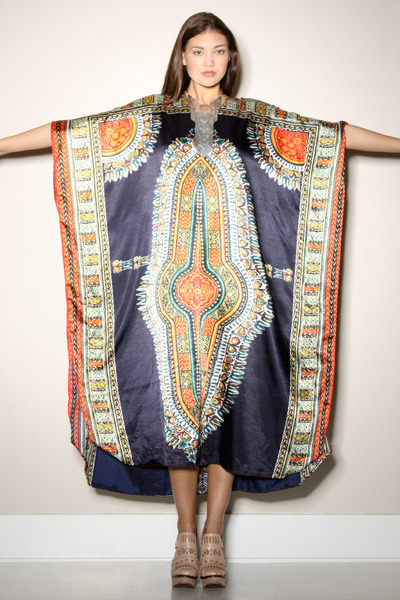 Dresses quot 1980s dashiki caftan quot by thrifted and modern chictopia