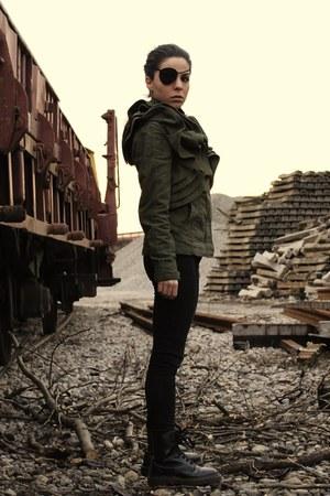 Valentino jacket - Dr Martens boots