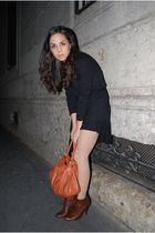 black Brandy & Melville dress - gold Juicy Couture accessories - brown Kassiopea