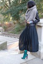 American Apparel socks - YSL boots - Silence & Noise jacket - Wrangler shirt