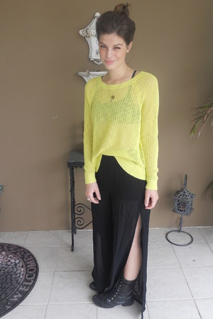 Old Navy sweater - Forever 21 pants