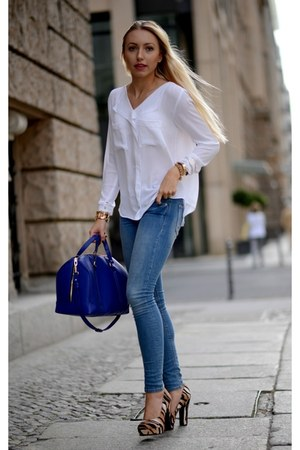 Blue Zara Bag How To Wear And Where To Buy Page 2