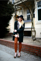 Zara coat - Zara shirt - vintage bag - Zara pants - Nine West pumps
